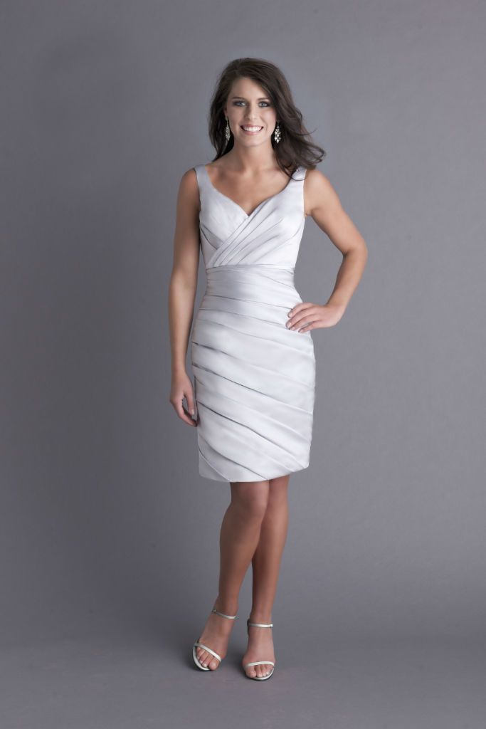 Andrew Adela, Bridesmaid Dress, Style 4070S. Great as a