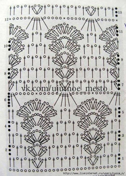 Patrón de ganchillo de lujo superior. Scheme (Crochet) | Revista ...