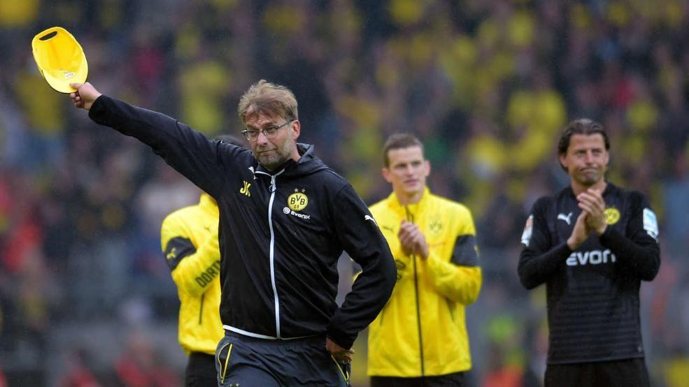Borussia Dortmund Der Emotionale Abschied Von Jurgen Klopp Werder Bremen Bilder Borussia Dortmund Werder Bremen