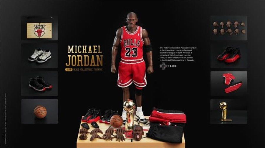 a2f0a23427b2 The One 1 6 st-001 NBA superstar Air Jordan Michael Jordan HOT FIGURE TOYS   MichaelJordan  ActionFigures  Statues