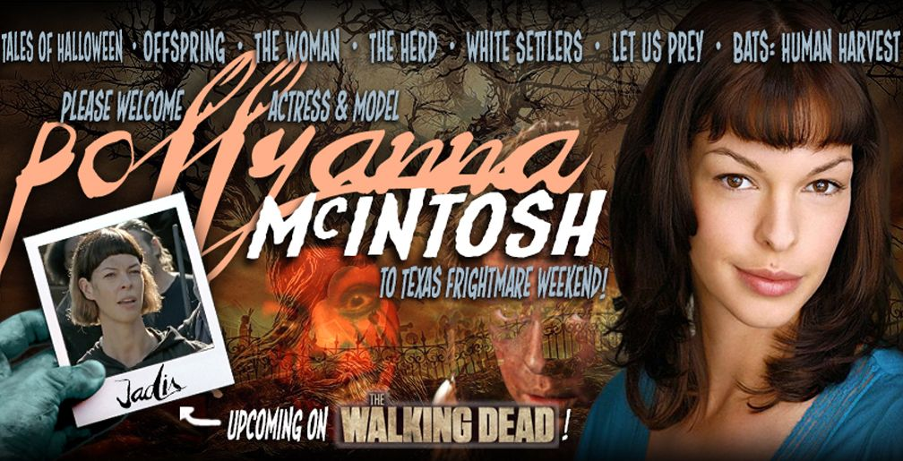 """The Walking Dead""'s Pollyanna McIntosh To Appear At 2017"
