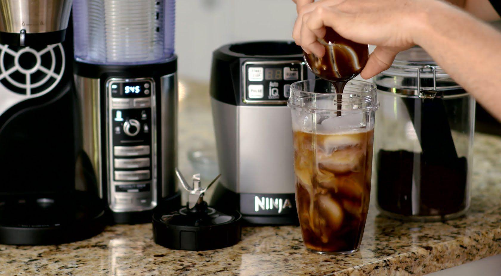 Making a mochaccino with the ninja coffee bar ninja