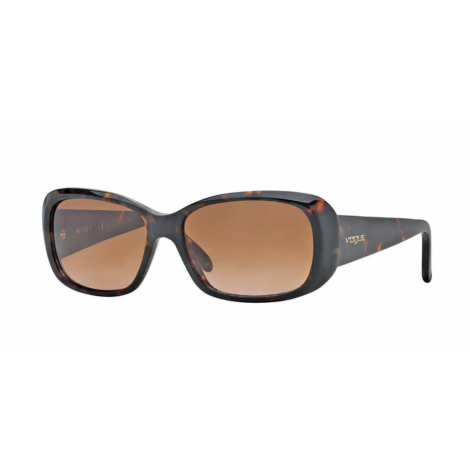 Vogue VO2606S Sonnenbrille Havanna W65613 55mm gJF48