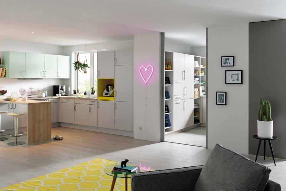 Hauswirtschaftsraum Perfekt Geplanter Arbeitsbereich Schoner Wohnen Hauswirtschaftsraum Waschkuchendesign Haus Und Heim