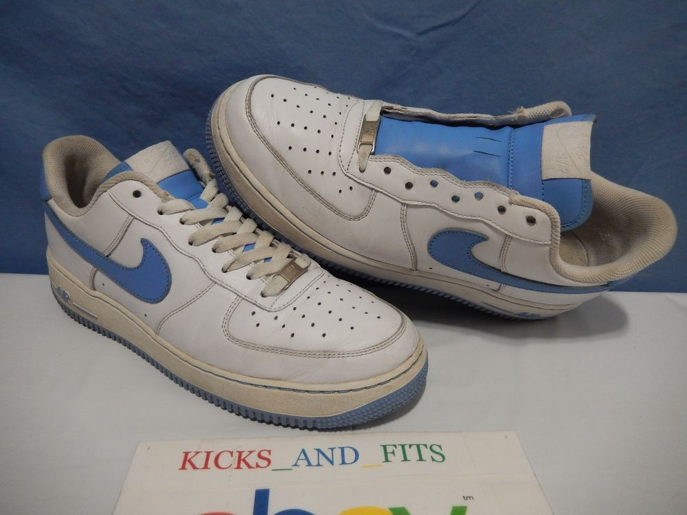 2009 Nike Air Force 1 '07 WhiteUniversity Blue Size 11
