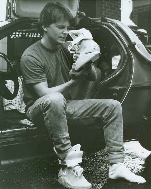 Nike MAG Shoes From Back To The Future Actually For Sale  c63602069d