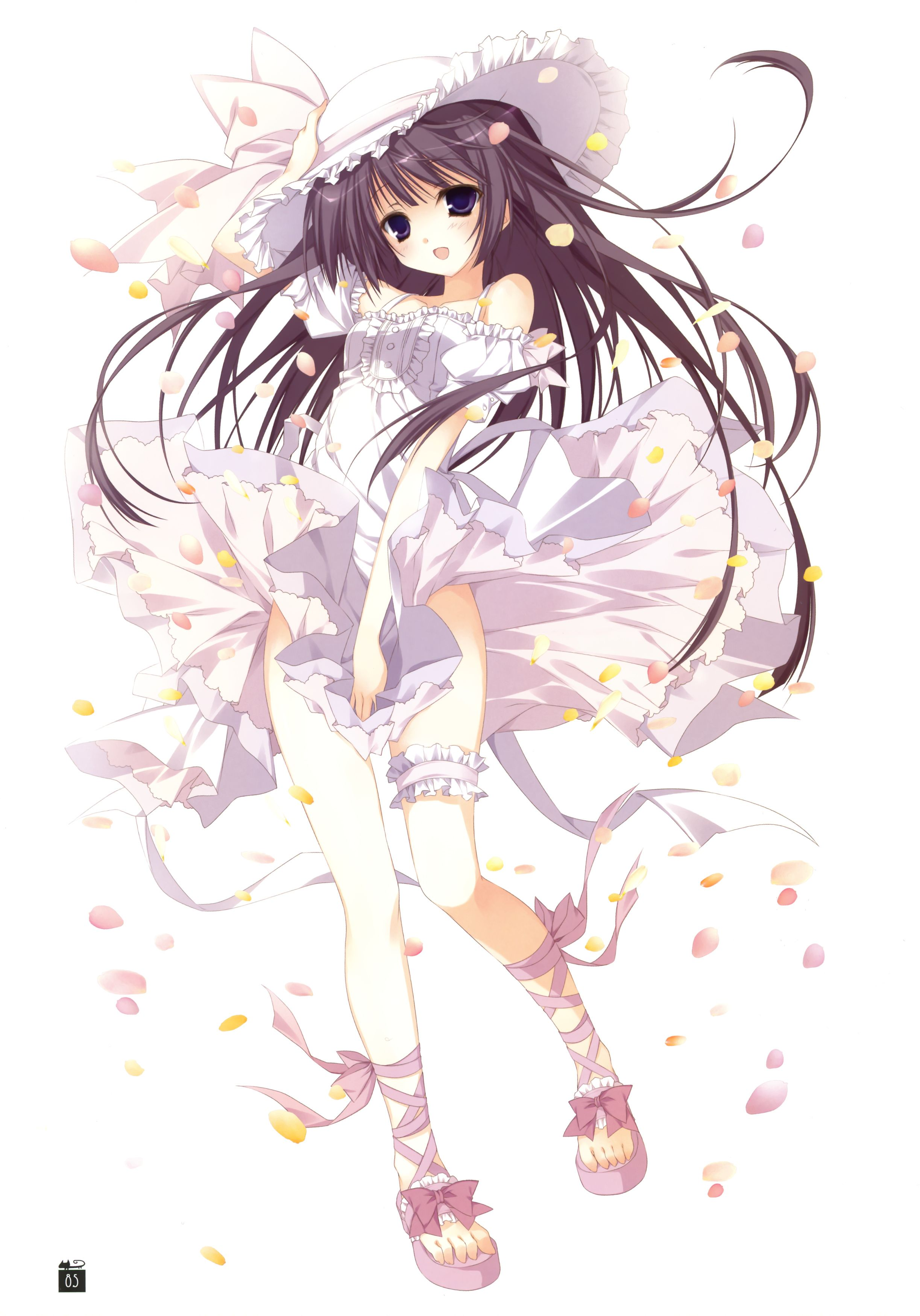 ANIME ART Clothes Cute Fashion Summer Dress