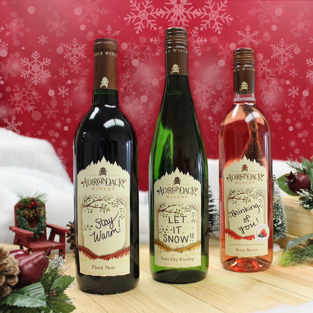 Personalized Wines Wines Holiday Wine Gift Personalized Wine
