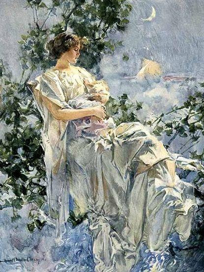 .:.   Howard Chandler Christy, (1873-1952): La princesa, 1911