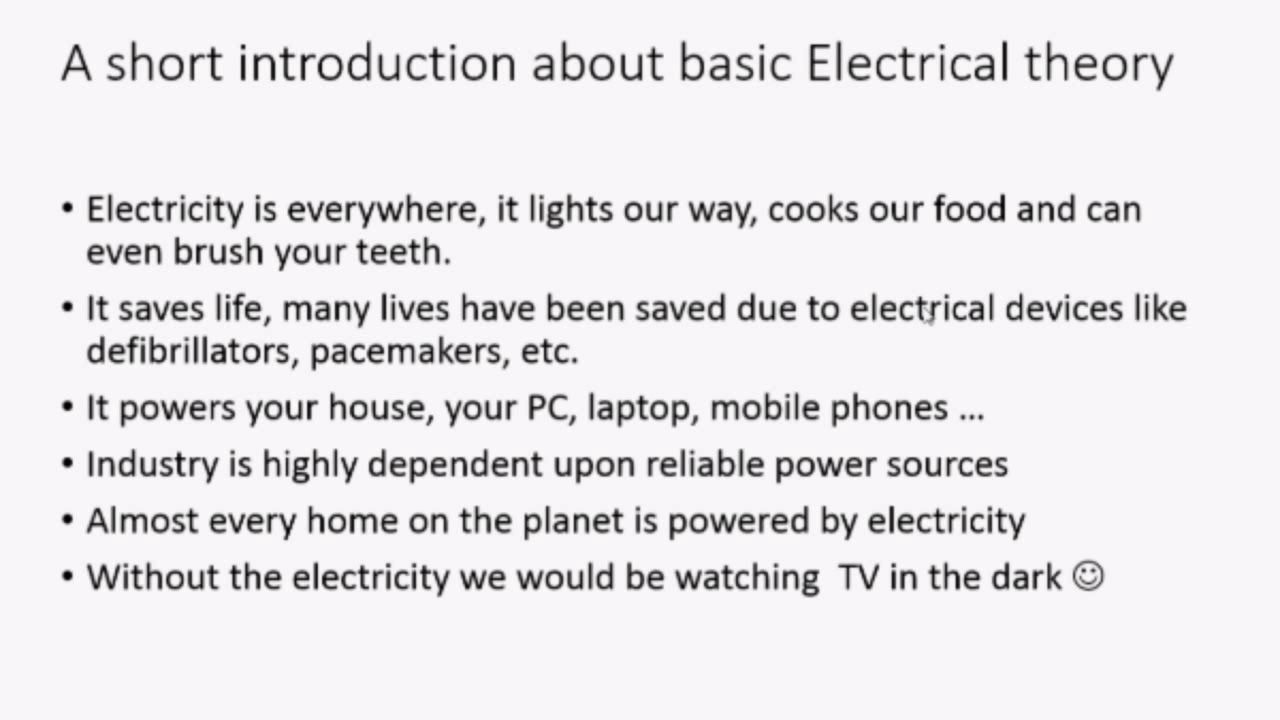 Electricity Definition in Electrical Engineering Blog
