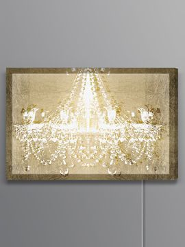Dramatic Entrance GOLD Lightbox (Canvas) from Brands We Love: Oliver Gal Lightbox on Gilt