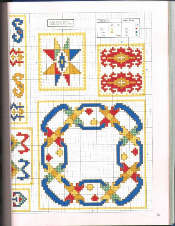 Gallery.ru / Фото #57 - 500 Cross Stitch Blocks - thabiti   DIY ...