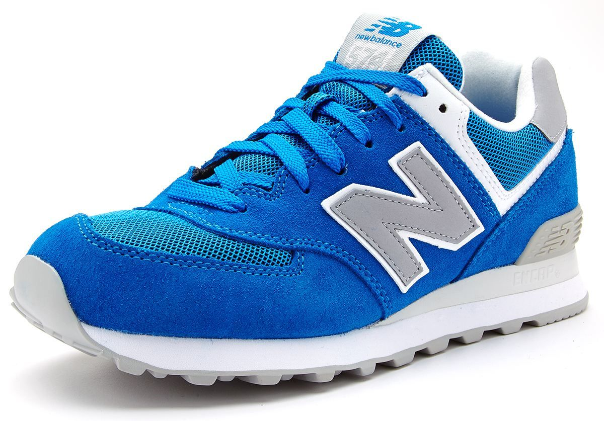blue new balance trainers