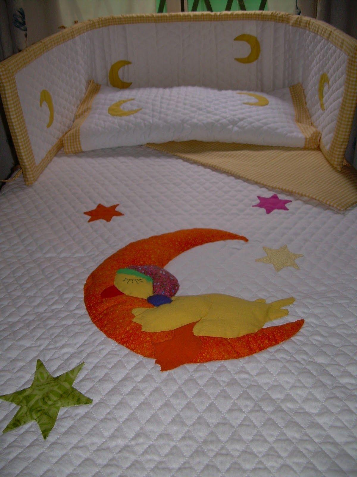 Resultado de imagen de colchas cuna patchwork pinterest - Colchas patchwork infantiles ...
