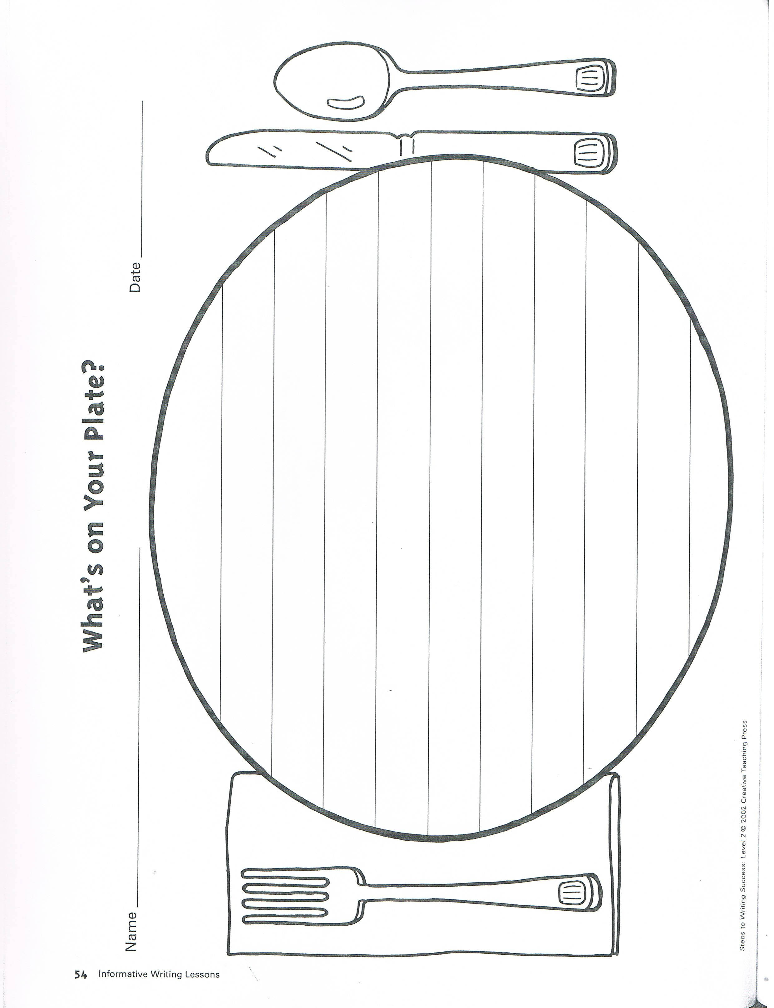dinner plate stationery dinner plates, writing prompts, line chart,  stationery, stationeries,
