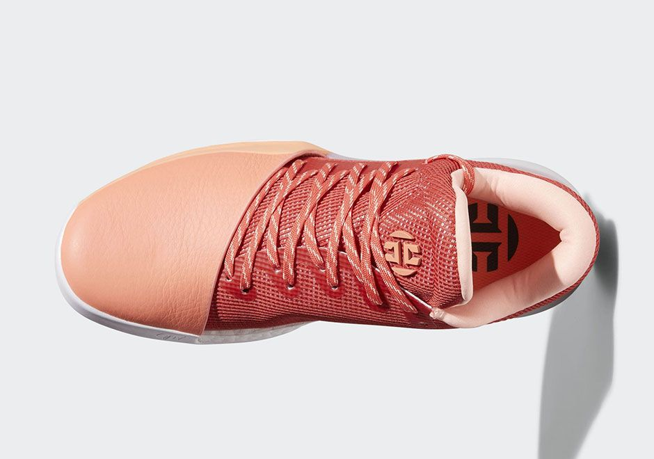 5b70cdcc820 1 Chalk Coral Kixify Marketplace adidas Harden Vol. 1 Coral AH2119 Navy  AH2120 Release Date + Official Photos SneakerNews ...