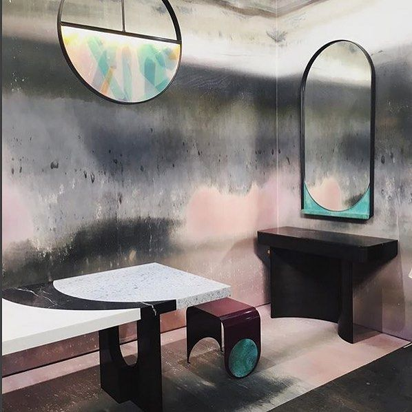 What metal can do! Beautiful space on the Ad Design show of @wallpaperprojects, ...-#*