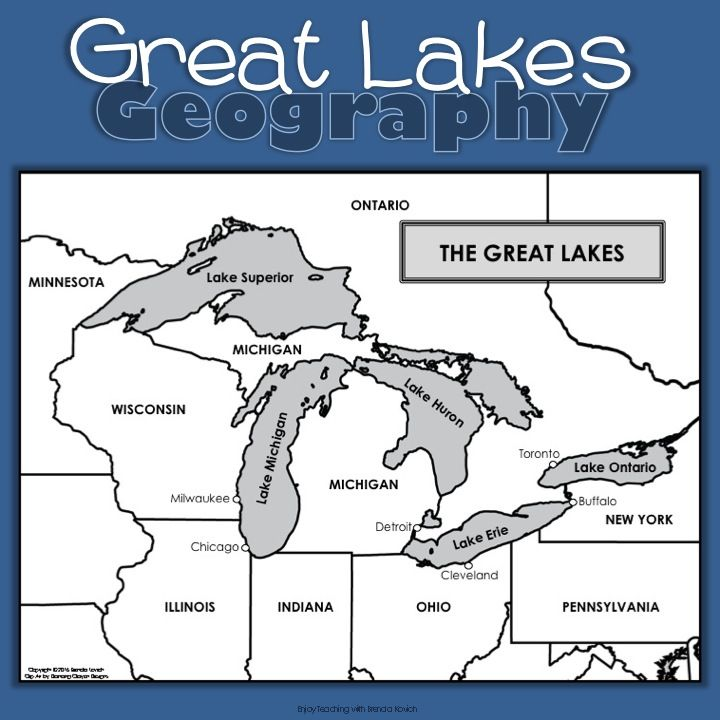 chicago great lakes map Great Lakes Activities For Kids Lake Activities Great Lakes Great Lakes Map chicago great lakes map