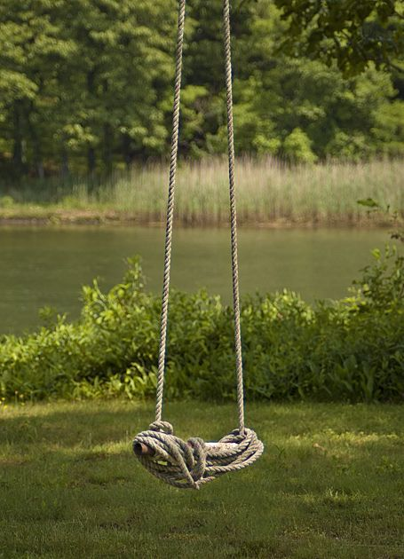 A simple rope swing