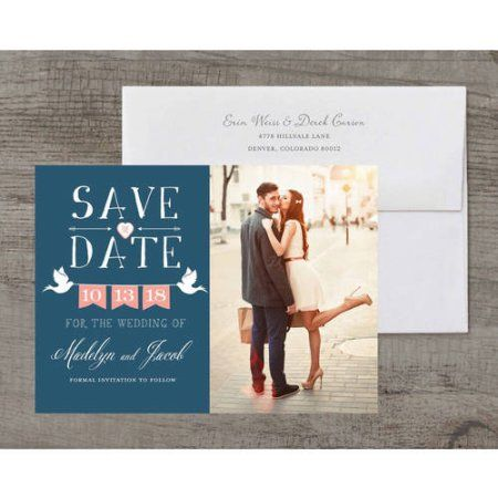 Doves Deluxe Save the Date, Blue