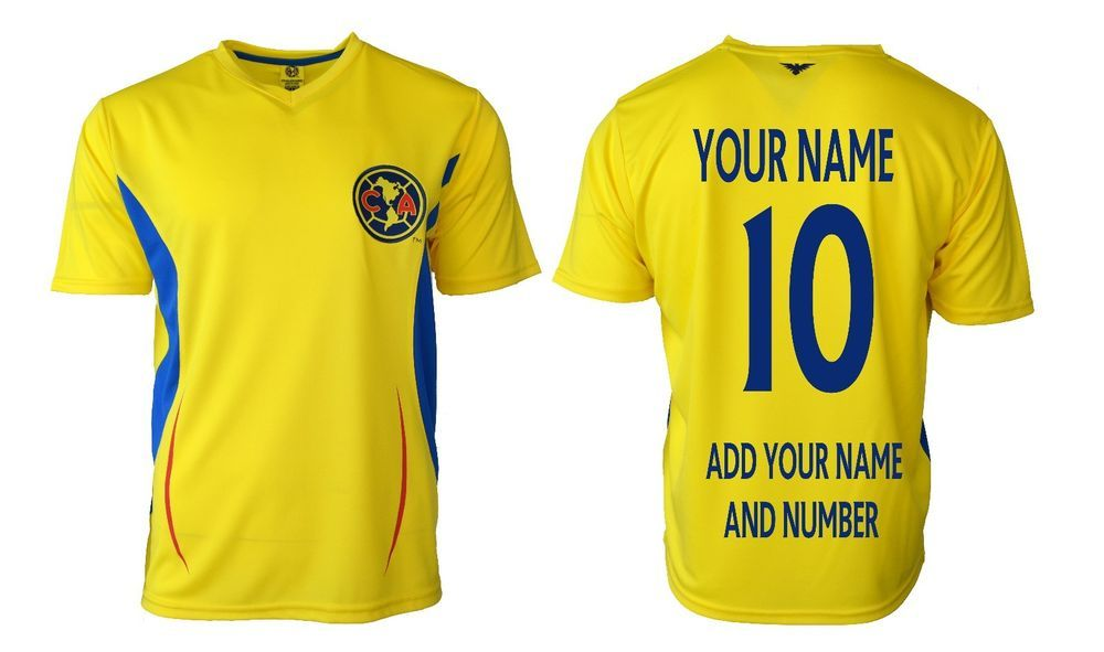 3bdff20988c61 Details about club America Soccer Jersey Mexico * Add Any Name ...