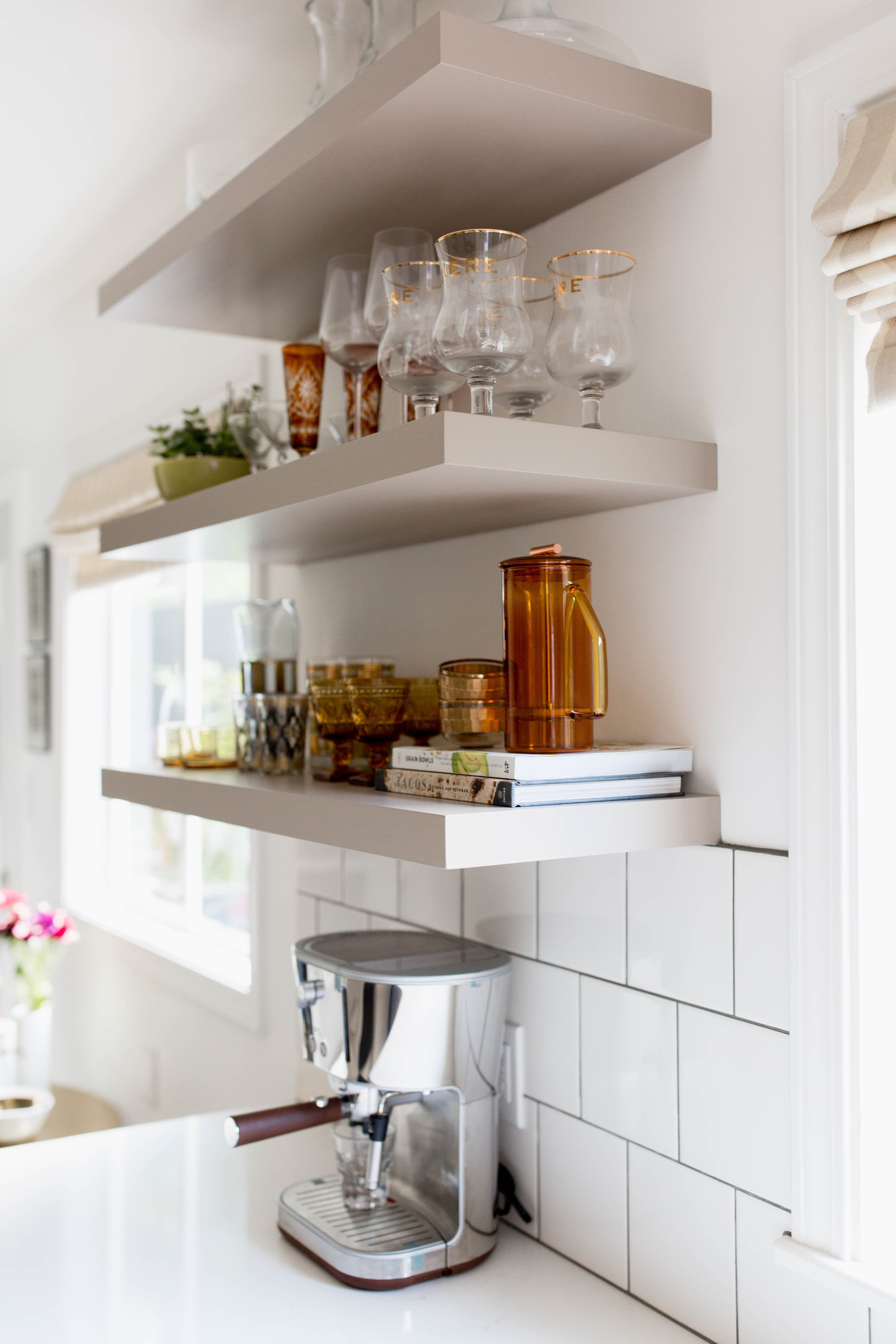 Floating shelves why less is more in floating shelves by