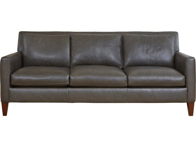Brax 3 Seat Leather Sofa Living Room