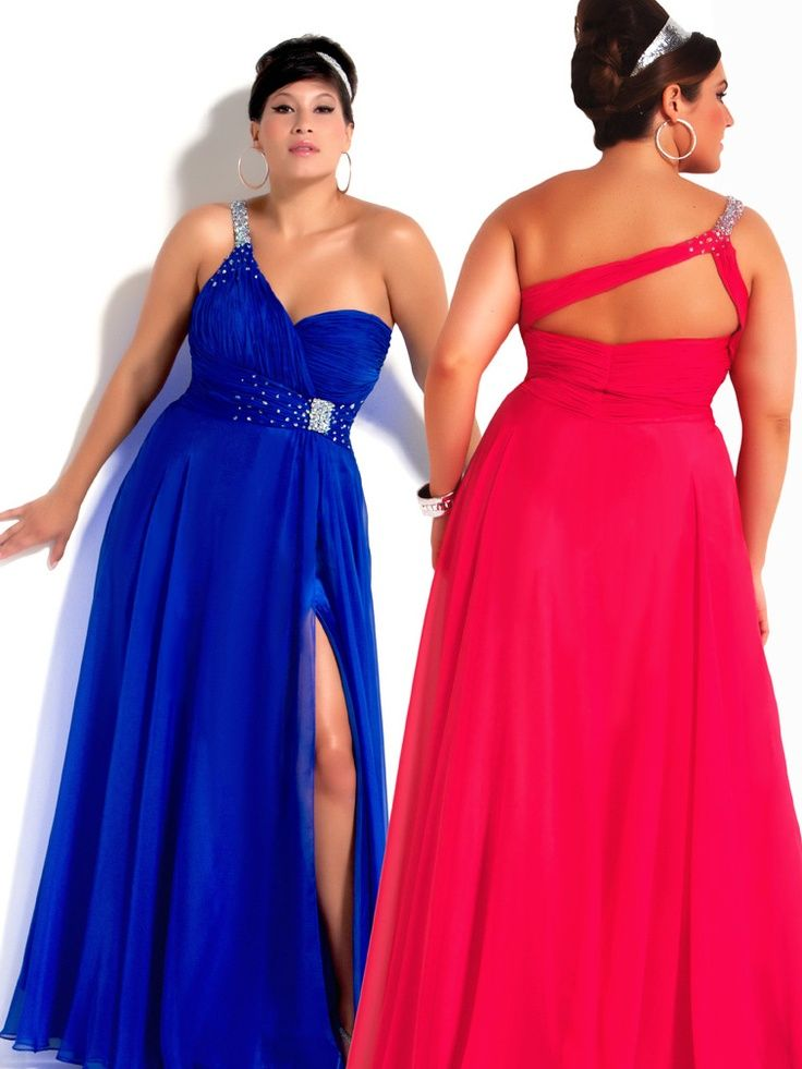 For the Diva! Full Figured Powerful Prom Dress inspirations shared ...