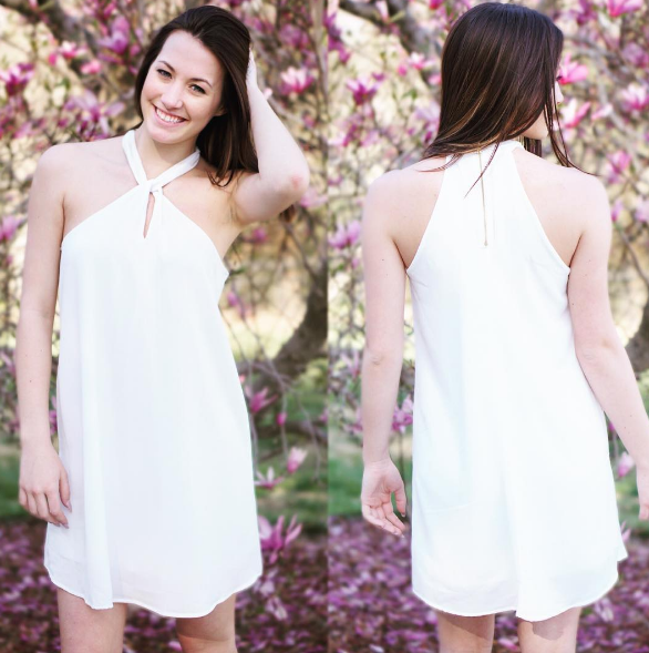 Everyone needs a little white dress in their closet! Shop the 'Breath of Fresh Air' dress online now + in Commerce! #whitedress #dresses #georgiaboutique #onlineboutique #boutiques #fashionistas #shopPD