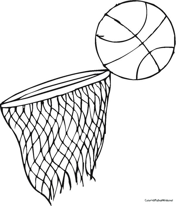 Basketball Coloring Pages Basketball Coloring Pages Coloring