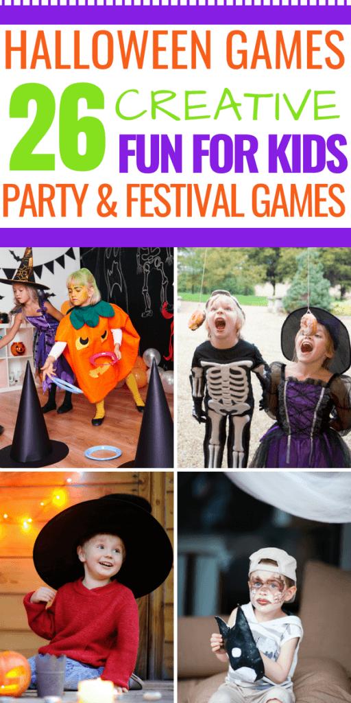 26+ Super Fun DIY Halloween Games For Kids (For Parties
