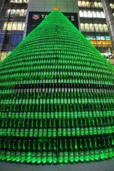Heineken Feliz Navidad.26 Arboles De Navidad Diferentes Arbol De Navidad De