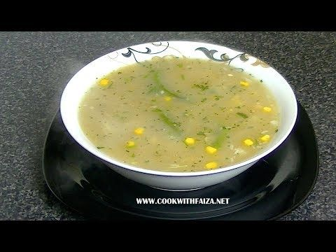 Thai Soup Cook With Faiza For Full Ingredients And Written Recipe Go To My Website Link Below Indian Cooking Recipes Cooking Recipes In Urdu Pakistani Food