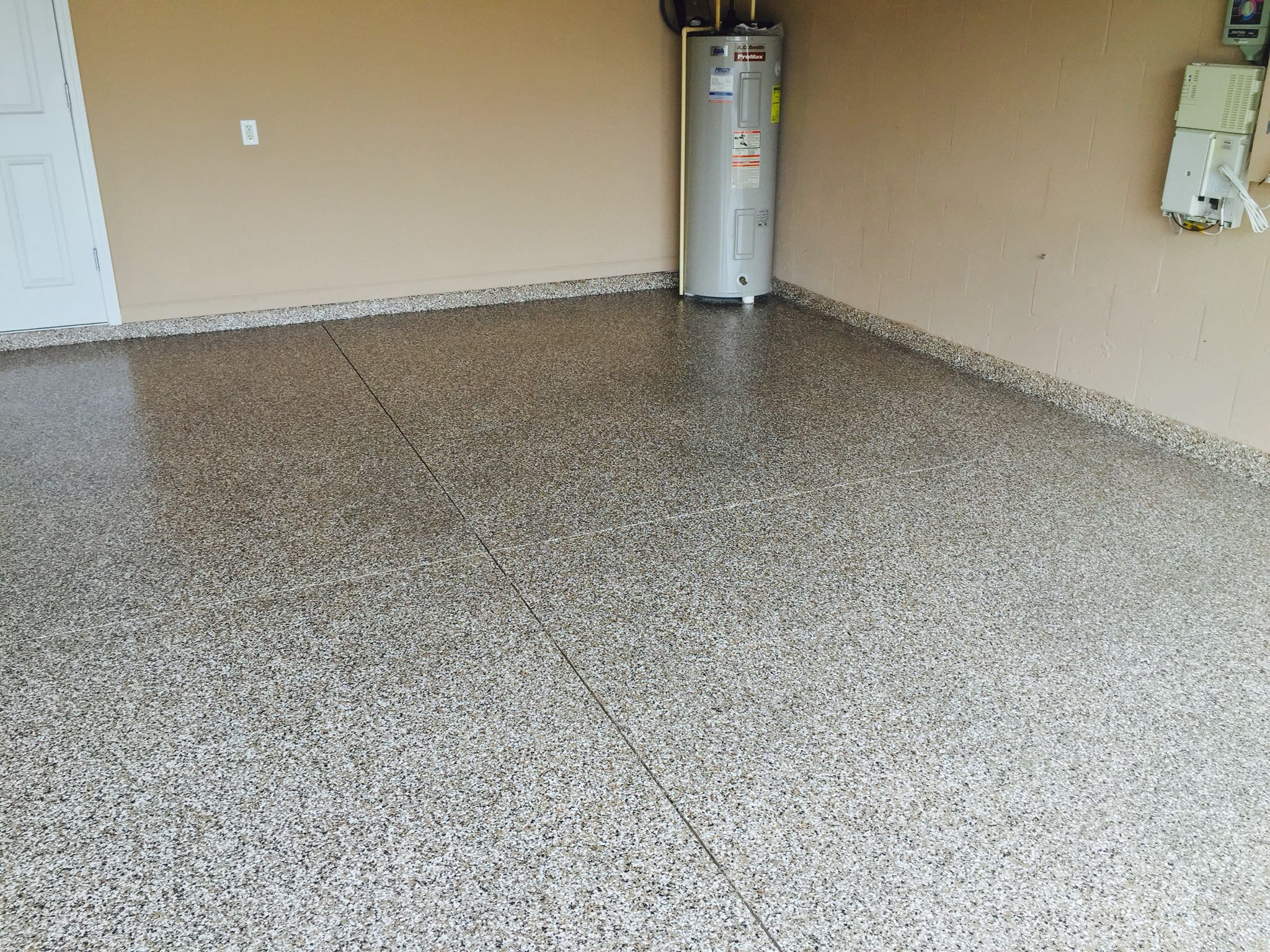 choosing garage acvap floors homes floor blue granite tiles