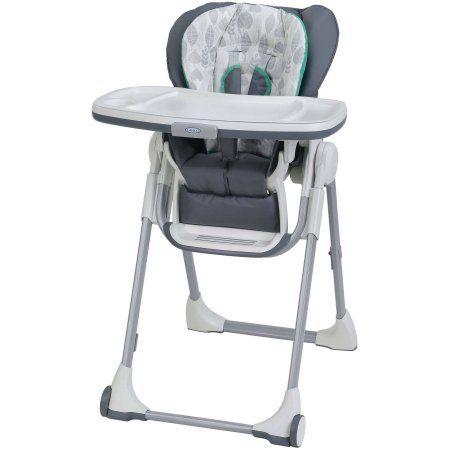 Graco Swift Fold High Chair Briar Walmart Com Graco High Chair Folding High Chair High Chair