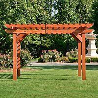 12 X 10 Cedar Pergola Sam S Club Outdoor Pergola Pergola Pergola Garden