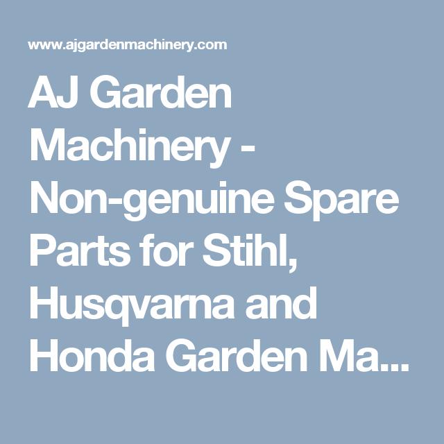 AJ Garden Machinery - Non-genuine Spare Parts for Stihl, Husqvarna