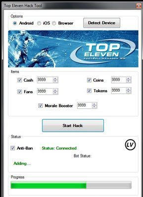 Top Eleven 2019 Hack How to Get Unlimited Cash and