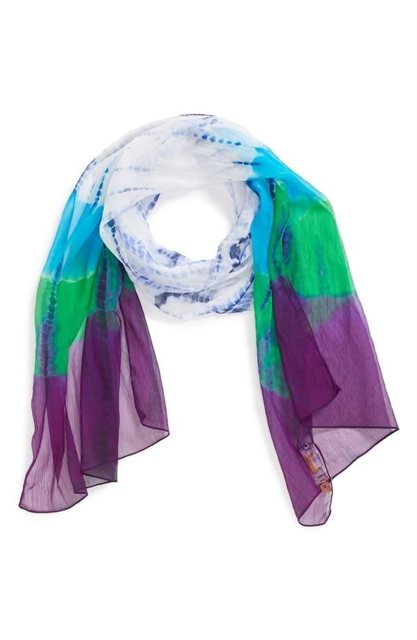 Blue Green And Purple Scarf For Spring Kids Amp Baby