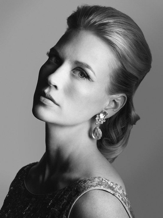January Jones U201cMad Menu201d Portrait By Frank Ockenfels