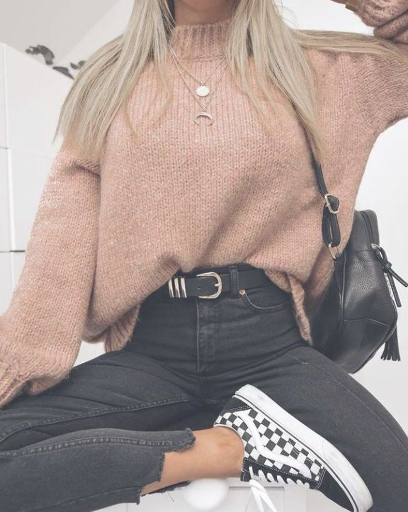 checkered vans  casual autumn outfit winter outfit style outfit inspiration