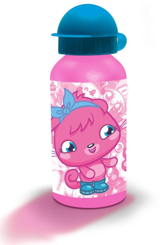 Spearmark moshi monster poppet kids 400ml aluminium drinking juice sports bottle