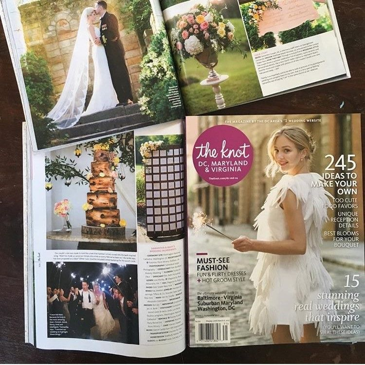 Gorgeous Winery Wedding Featured In Print