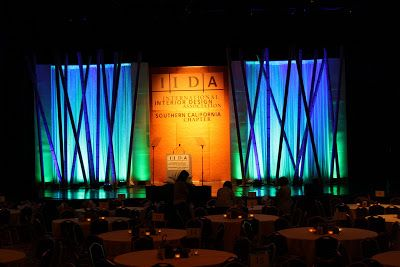 This Year For The International Interior Design Association IIDA Awards Ceremony Client