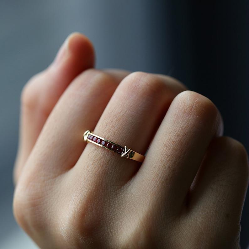 12++ Ruby wedding rings gold ideas