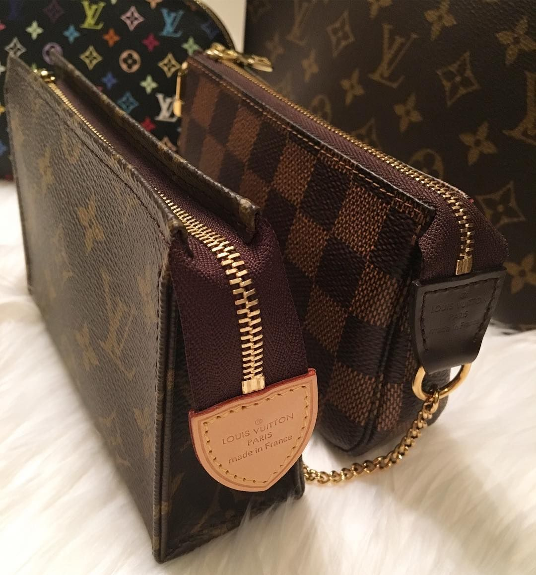 Betere Louis Vuitton Pouch For Make-up. A Handbag for Women To Carry UK-38