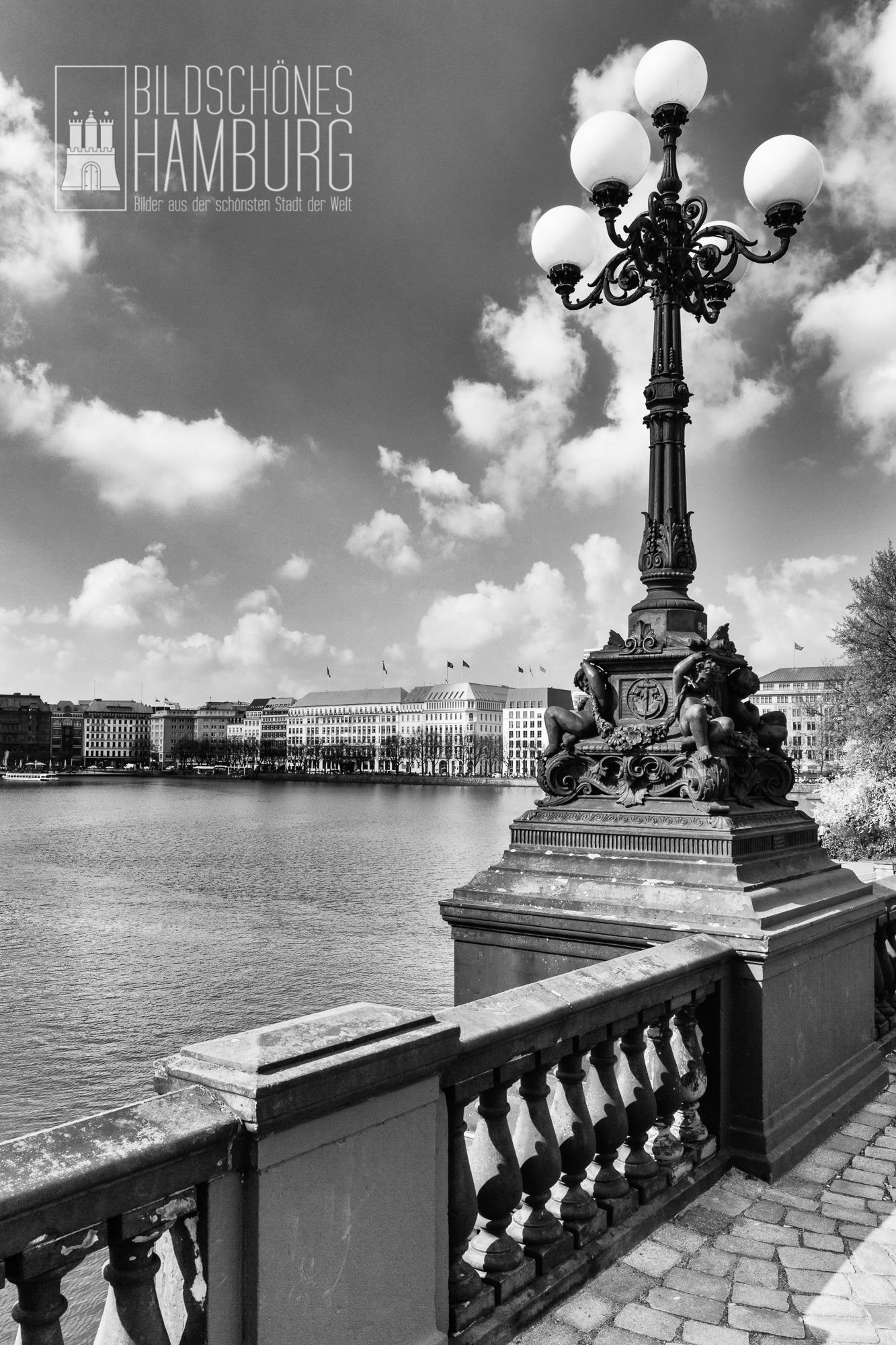 hamburger binnenalster in schwarz wei bildsch nes hamburg bildsch nes hamburg pinterest. Black Bedroom Furniture Sets. Home Design Ideas