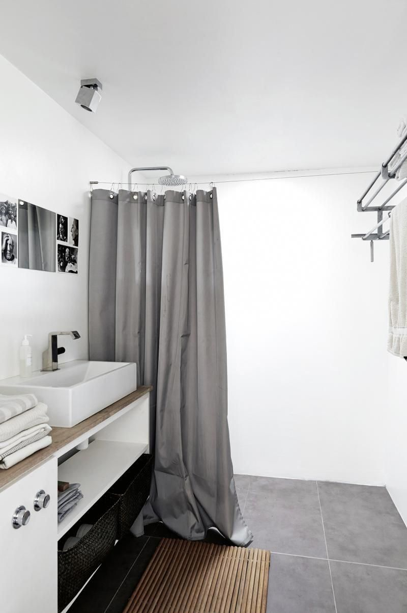 One Part That Can Make Your Scandinavian Bathroom Look A Lot More Attractive Is The S Coastal Living Rooms Scandinavian Shower Curtains Scandinavian Style Home