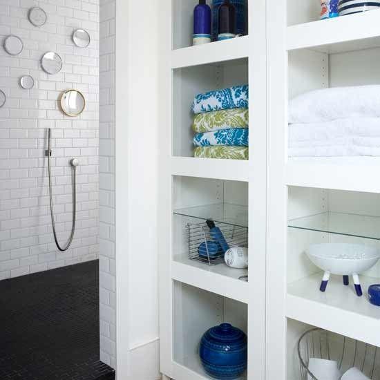 Built In Bathroom Storage Http Pinhome