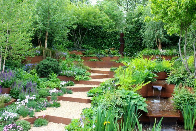 Gartengestaltung mit Kies – 93 Ideen mit Naturstein und ...
